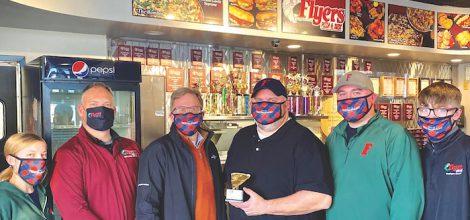 """Flyers Pizza - February 2021 """"Golden Slice"""" Winner"""